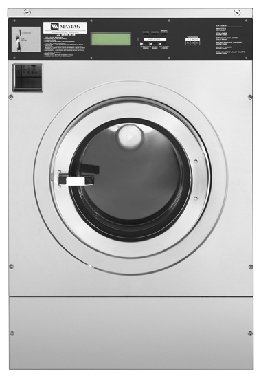 MG-Series Coin-Operated Washing Machines - Continental Girbau